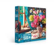 Quebra Cabeça 500 Pcs Casa De Veraneio Ref.2707 Toyster