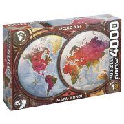 Quebra-Cabeça - Mapa Mundí Século XXI - 4000 peças - Estrela