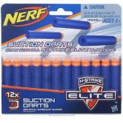 Refil Nerf 12 Dardos Succao Ref. A5334 Hasbro