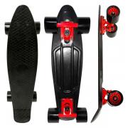 Skate Mini Cruiser Dm Radical Preto, DM Toys