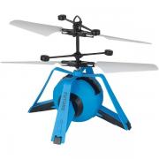 Super flyer Espacial Azul com sensor voa de verdade - 7206-7207 Braskit