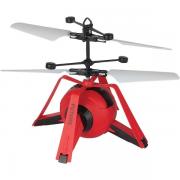 Super flyer Espacial Vermelho com sensor voa de verdade - 7206/7207 Braskit