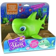 Tubarão De Vinil Family Shark Verde - R217 Cometa