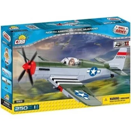 Aviao Militar P-51C Mustang Ref.Cobi5513 California