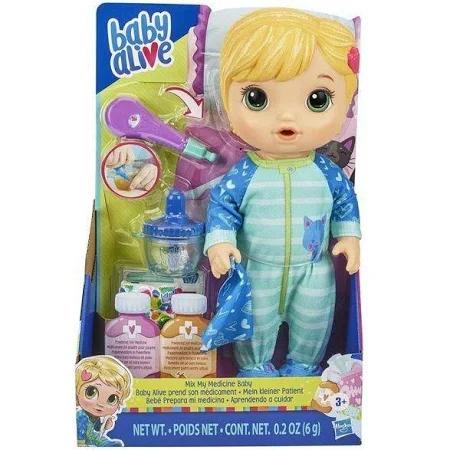 Baby Alive Aprendendo A Cuidar Loira Ref.E6937 Hasbro