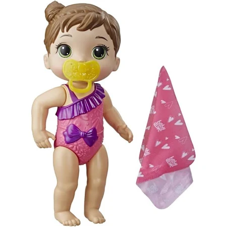 Baby Alive Bebe Banhos Carinhosos Morena Ref.E8716 Hasbro