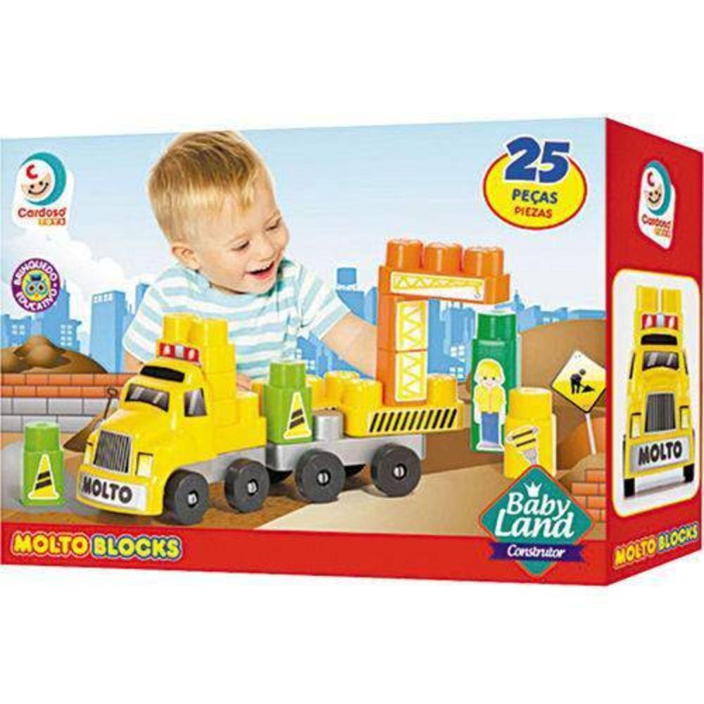 Baby Land Construtor 25 Pecas Ref. 8008 Cardoso
