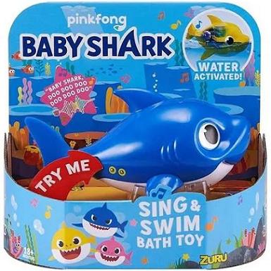 Baby Shark - Zuru Robo Alive Azul - 1118 Candide