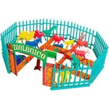 Balde Zoo - Animais do Zoológico - 39 Peças - 1040 Gulliver