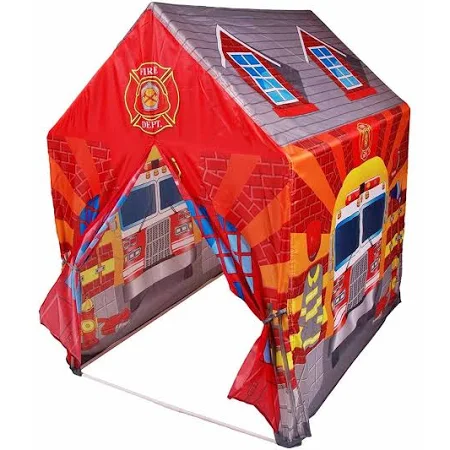 Barraca Infantil Dobrável Cabana Menino Tenda Bombeiro - Dmt5653 Dm Brasil