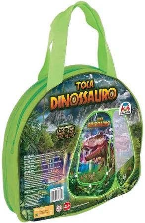 Barraca Infantil Toca Dinossauro Verde - 8203 Braskit