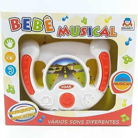 Bebe Musical Comando - 6400 Braskit