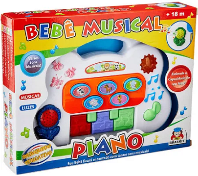 Bebe Musical Piano Ref. 6406