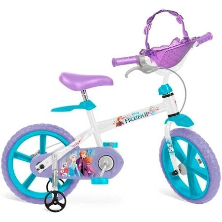 Bicicleta Aro 14 Frozen 2 Ref.3099 Bandeirante