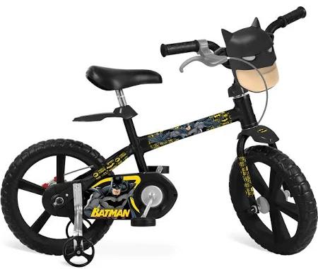Bicicleta Infantil Aro 14 - Batman - DC Comics - 3202 Bandeirante