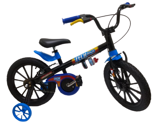 Bicicleta Tech Boys Aro 16 Ref. 10104/60009 Nathor