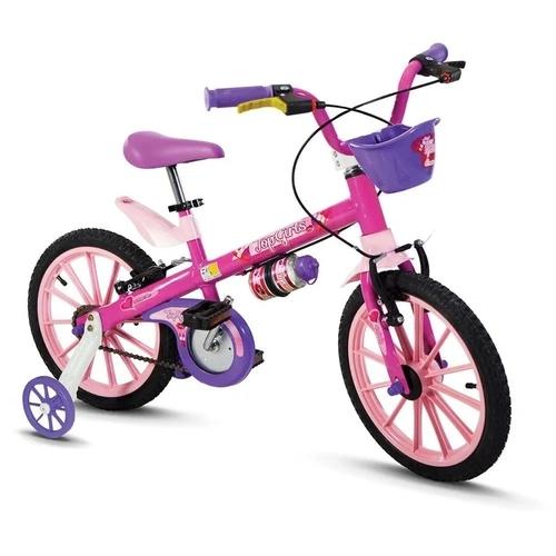 Bicicleta Top Girls Aro 16 Ref. 10103/60010 Nathor