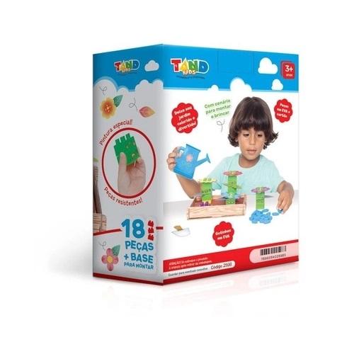 Blocos de Montar Meu Jardim Tand Kids 18 Peças - 2598 Toyster