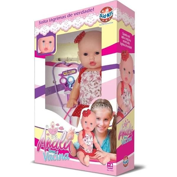 Boneca Analu Toma Vacina - 1010 Sidnyl