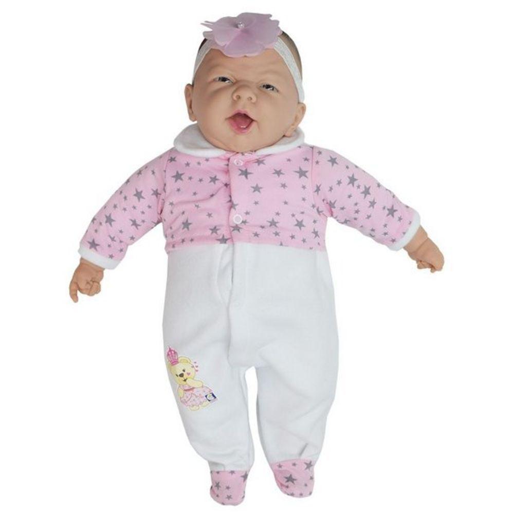 Boneca bebê Reborn Princesa Nino Baby Cotiplas