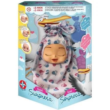 Boneca Bebe Surpresa 1001001500003 Estrela