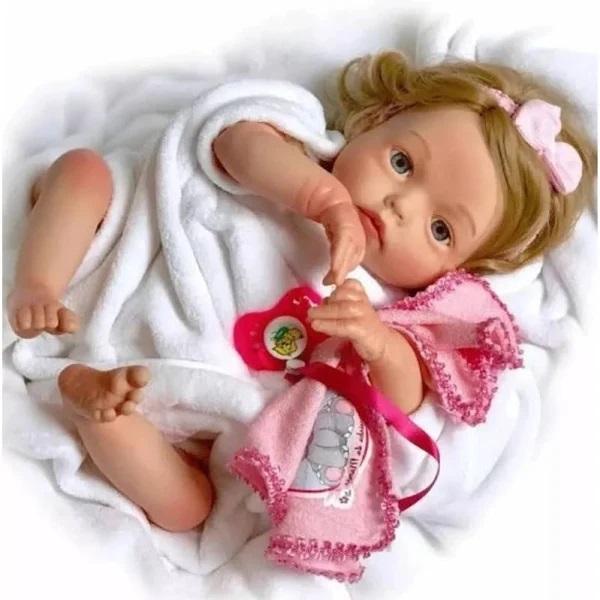 Boneca Coleção Doll Realist Yasmim - 1172 Sidnyl