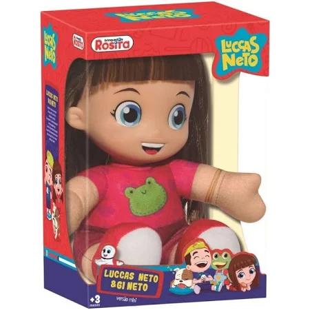 Boneca Gi Neto Pequena - 1076 Bbra