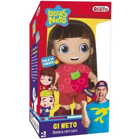 Boneca Gi Neto Ref. 1073 Bbra