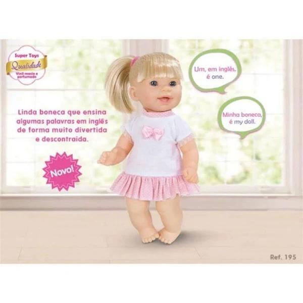 Boneca Jenny Fala Ingles - 366 Super Toys