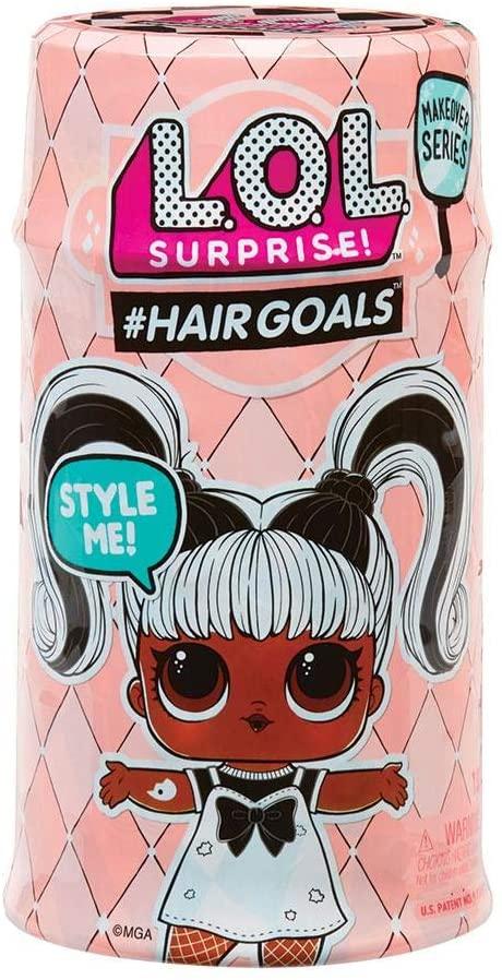 Boneca Lol Hair Goals Serie 2 Lançamento Makeover