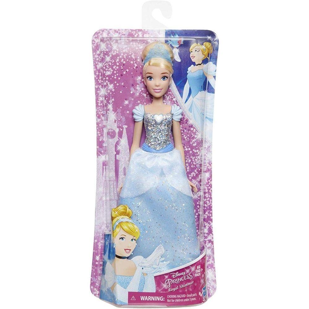 Boneca Princesa Cinderela Disney Royal Shimmer - E4158 - Hasbro