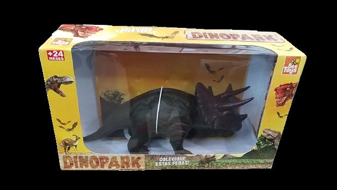 Boneco Dinossauro Triceratops - 0611 Arco Iris