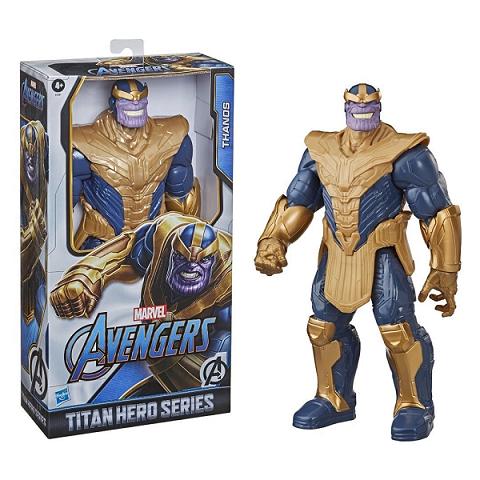 Boneco Marvel Avengers Thanos Titan Hero Deluxe com 30cm - E7381 Hasbro