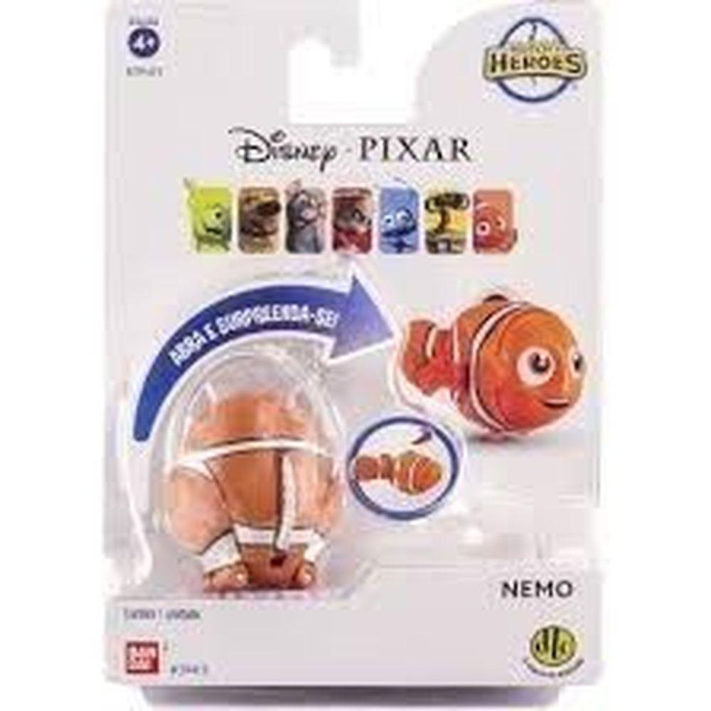 Boneco Nemo Procurando Nemo Hatch n Heroes Disney