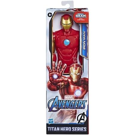 Boneco Titan Hero Homem De Ferro Ref.E7873 Hasbro