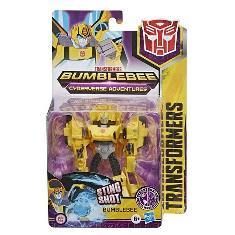 Boneco Transformers - Cyberverse - Bumblebee - Hasbro