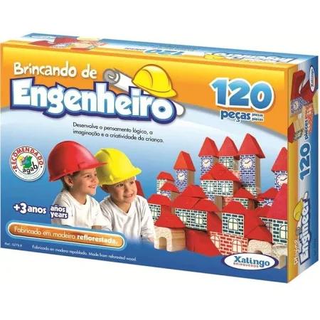 Brincando De Engenheiro 120 Pcs Ref. 52798