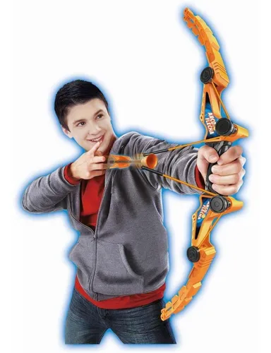 Brinquedo Arco E Flecha 3 Flechas Arqueiro Laranja - Dmt5910 Dm Brasil