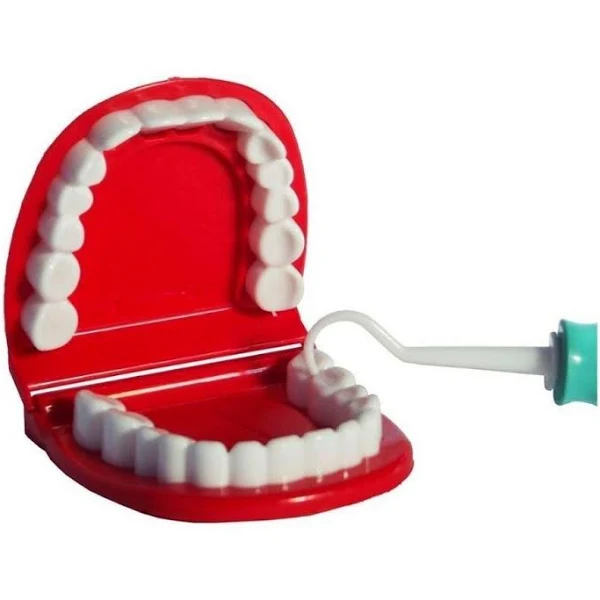 Brinquedo didatico kit maleta dentista verde com acessorios - 1270 Pakiplast