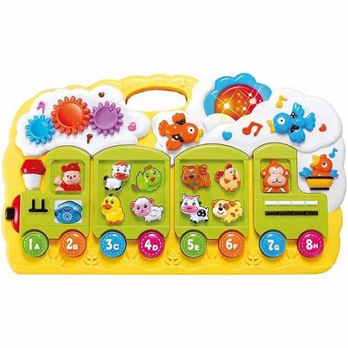Brinquedo Educativo Trenzinho - Dmt4744 Dm Brasil