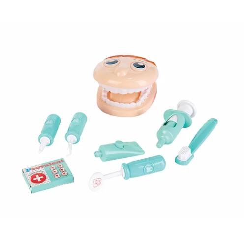 Brinquedo Kit Dentista Pequeno 8 itens Fenix Dtc-523A Fenix