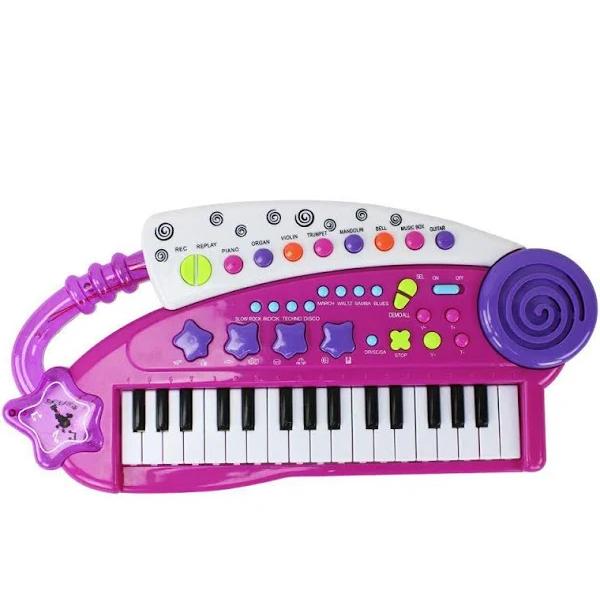 Brinquedo Teclado Musical Single Star - R2973 Bbr
