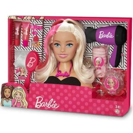 Busto Barbie Styling Hair 1264 Pupee