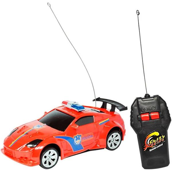 Carrinho de Controle Remoto Sem Fio Carro de Policia - Dmt5057 Dm Brasil