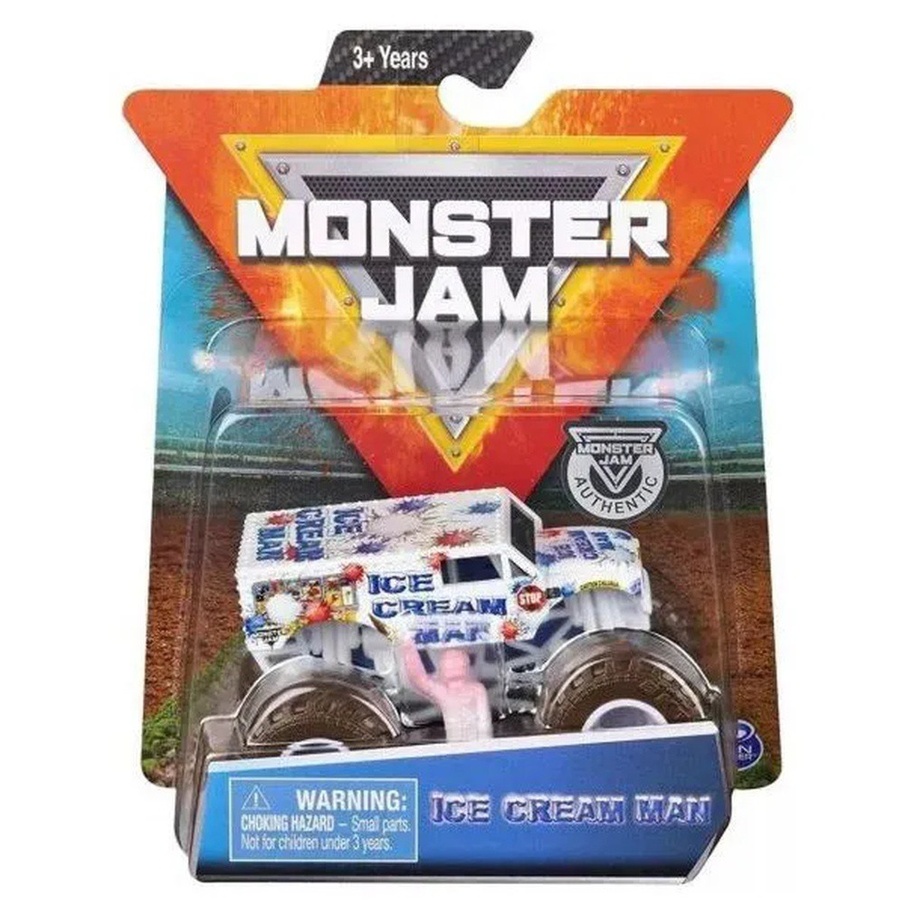 Carrinho Monster Jam Ice Cream Man REF.2025 SUNNY