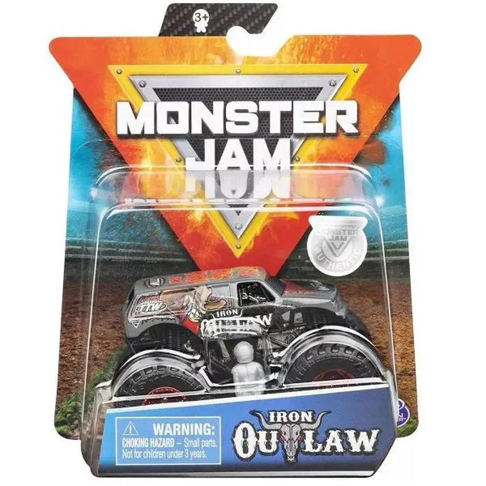 Carrinho Monster Jam Iron Outlaw REF.2025 SUNNY
