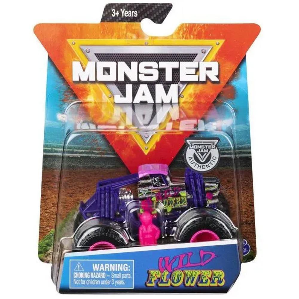 Carrinho Monster Jam Wild Flower REF.2025 SUNNY