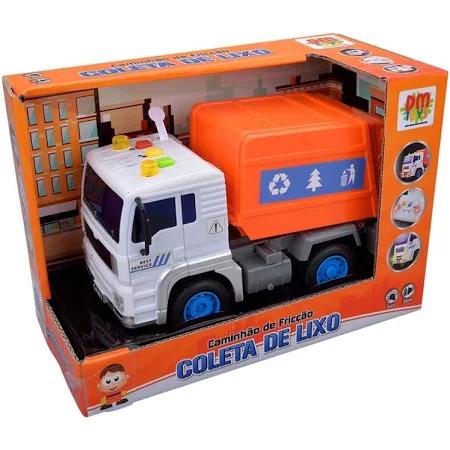 Carro Friccao Luz Som Coleta De Lixo - Dmt5699 Dm Brasil