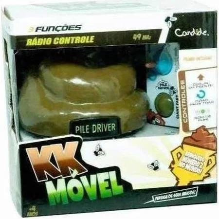 Carro Kk Móvel Com Controle Remoto - 1101 Candide