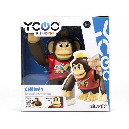 Chimpy Macaco Dancante Vermelho Ref.3300 Candide